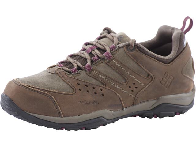 Columbia Peakfreak XCRSN OutDry Leather Shoes Women, cordovan/dark